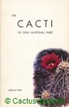 Trapp, C. - The Cacti of Zion National Park (1969)