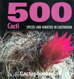 Ken Preston-Mafham. - 500 Cacti - Species and Varieties in Cultivation. - (voorkant).