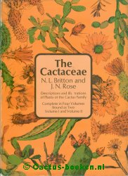 Britton, N.L. & Rose, J.N. - The Cactaceae - Volume 1 + 2 (voorkant).