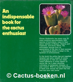 Günter Andersohn - Cacti and Succulents (achterkant).