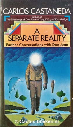 Carlos Castaneda: A Separate Reality (1971, Pocket Books) - (voorkant).