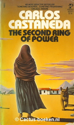 Carlos Castaneda - The second Ring of Power. (1977, Pocket Books) - (voorkant).