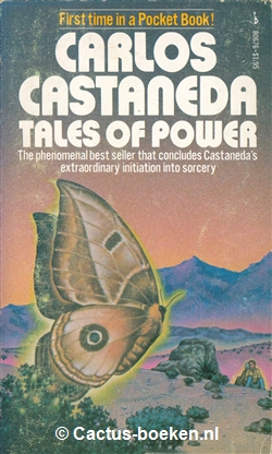Carlos Castaneda: Tales of Power (1974, Pocket Books). - (voorkant).