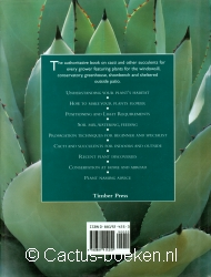 Graham, K. & Klaassen, P.  - The Plantfinder's Guide to Cacti & other Succulents (achterkant).