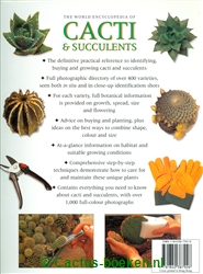 Miles Anderson - The World Encyclopedia of Cacti & Succulents (achterkant).