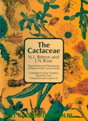 Britton, N.L. & Rose, J.N. - The Cactaceae - Volume III and Volume IV - (voorkant).